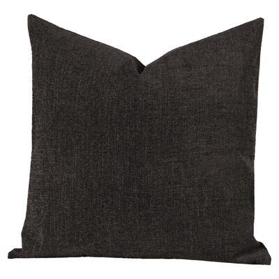 Barcus Gray Throw Pillow Size: 20 H x 20 W x 6 D