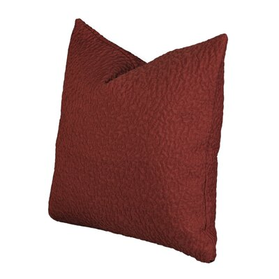 Aprea Red Throw Pillow Size: 16 H x 16 W x 6 D