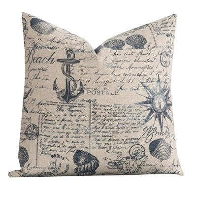 Kittery Point Throw Pillow Size: 16 H x 16 W x 6 D