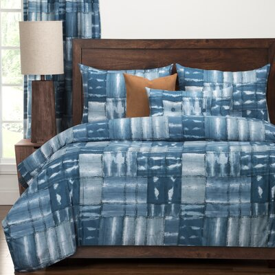 American Vintage Luxury Duvet Cover Set Size: Queen