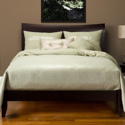 Sparkly Duvet Set Size: Full, Color: Herb