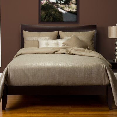 Sterling Duvet Set Size: Twin, Color: Mushroom