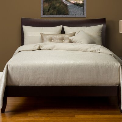 Sterling Duvet Set Size: Full, Color: Pearl