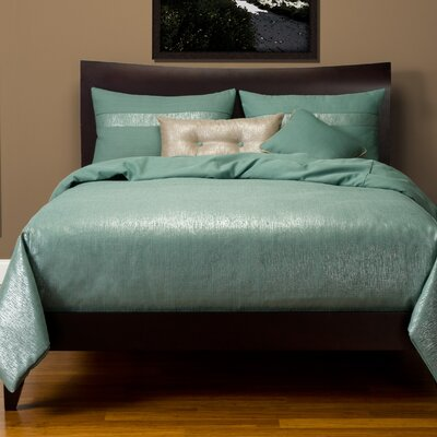 Sterling Duvet Set Size: Queen, Color: Slate