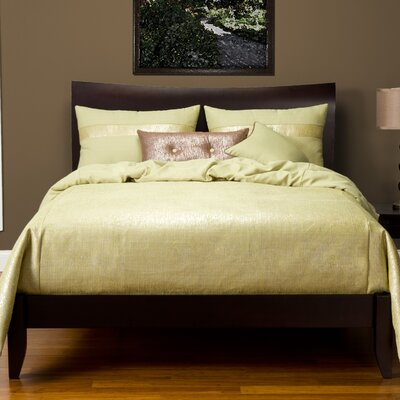 Sterling Duvet Set Color: Chardonnay, Size: Twin