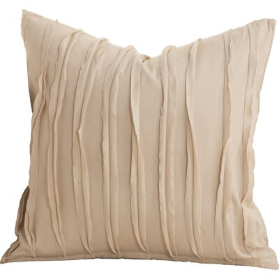 Tilda 100% Cotton Throw Pillow Size: 26 x 26, Color: Almond