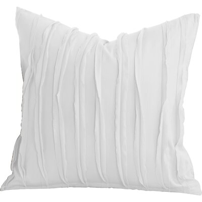 Tilda 100% Cotton Throw Pillow Size: 26 x 26, Color: White