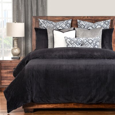 Palmdale Black Duvet Set Size: California King