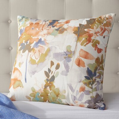 Summer Set Peach Throw Pillow Size: 16 H x 16 W x 6 D