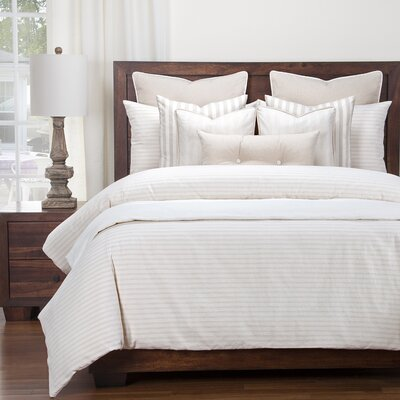Amazonia Duvet Set Size: Queen, Color: Beige