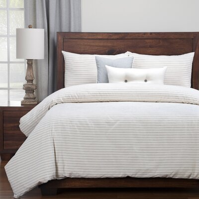Amazonia Duvet Set Size: California King, Color: Gray