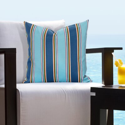 Juarez Crystal Pier Outdoor Throw Pillow Size: 16 H x 16 W x 6 D