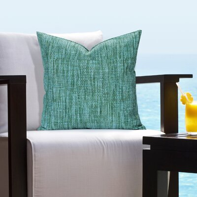 Hood Deep Sea Outdoor Throw Pillow Size: 16 H x 16 W x 6 D