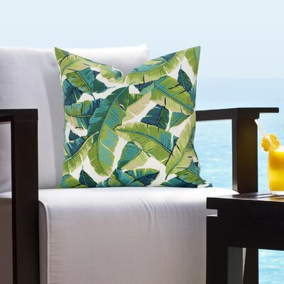 Emilee Outdoor Throw Pillow Size: 16 H x 16 W x 6 D