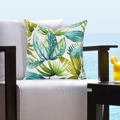 Enya Outdoor Throw Pillow Size: 16 H x 16 W x 6 D