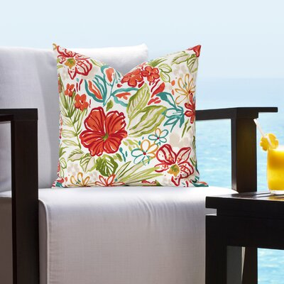Dacia Outdoor Throw Pillow Size: 26 H x 26 W x 6 D