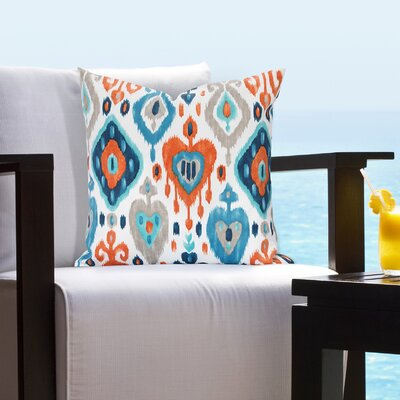 Arleigh Outdoor Throw Pillow Size: 20 H x 20 W x 6 D