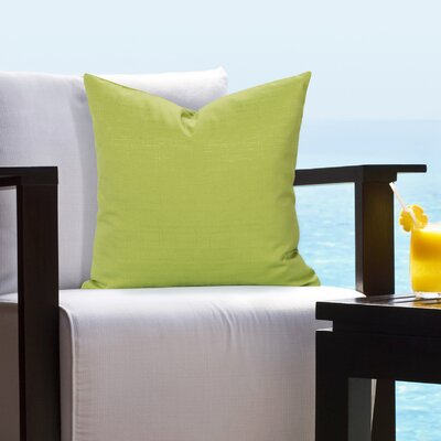 Johansen Tropical Outdoor Throw Pillow Size: 16 H x 16 W x 6 D, Color: Citrus
