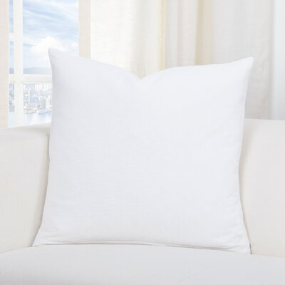 Everlast Throw Pillow Size: 20 H x 20 W x 6D, Color: White