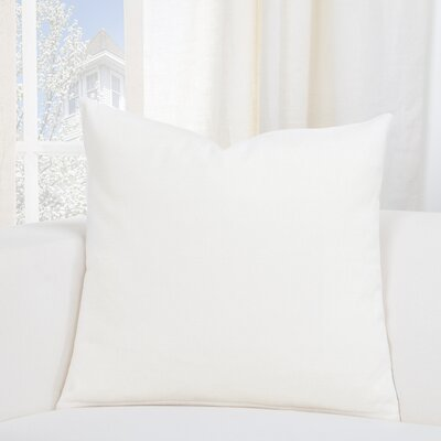 Everlast Throw Pillow Size: 16 H x 16 W x 6 D, Color: Cream