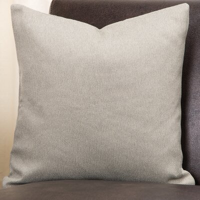Everlast Throw Pillow Size: 16 H x 16 W x 6 D, Color: Greige