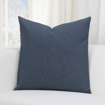 Everlast Throw Pillow Size: 16 H x 16 W x 6 D, Color: Navy