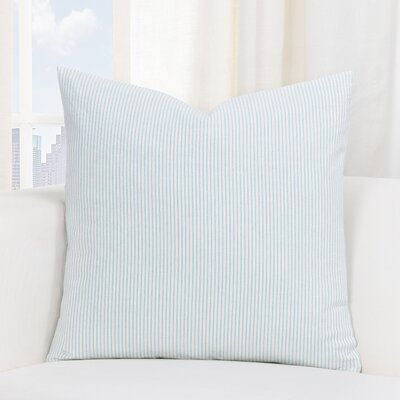 Buttercup Throw Pillow Size: 26 H x 26 W x 6 D, Color: Mist