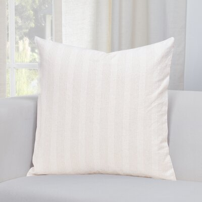 Austin Throw Pillow Size: 16 H x 16 W x 6 D, Color: Tan