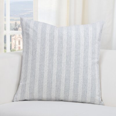Austin Throw Pillow Size: 20 H x 20 W x 6 D, Color: Navy