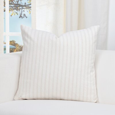 Nena Throw Pillow Size: 26 H x 26 W x 6 D, Color: Barley
