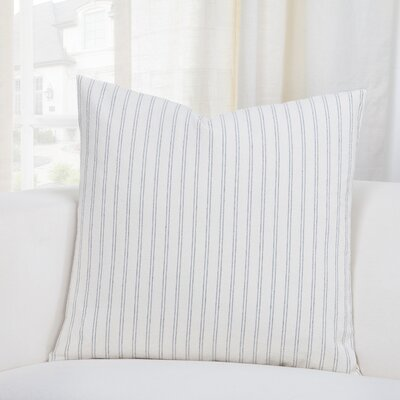 Nena Throw Pillow Size: 26 H x 26 W x 6 D, Color: Pewter
