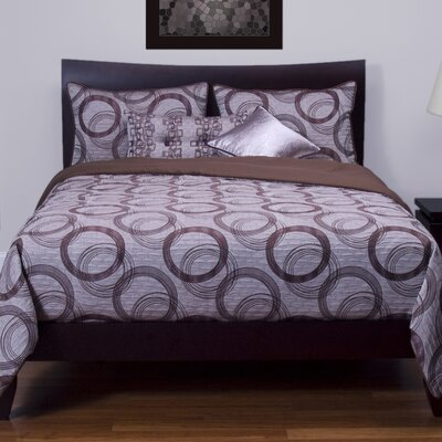 Brandon Reversible Duvet Set Size: King