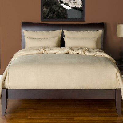 Arlosh Duvet Cover Set Color: Bisque, Size: Queen