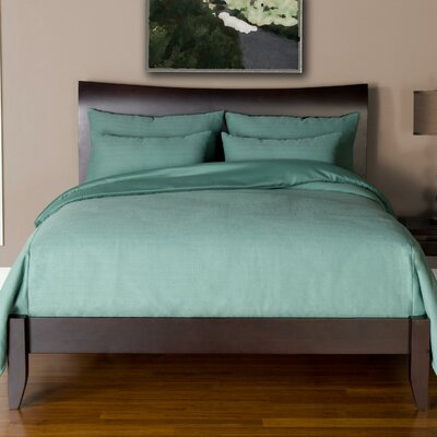 Arlosh Duvet Cover Set Size: Queen, Color: Teal