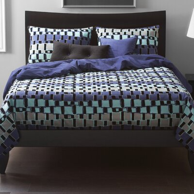 Dianna Duvet Cover Set Size: Twin, Color: Storm