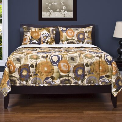 Arledge 3 Piece Reversible Duvet Cover Set Size: Queen