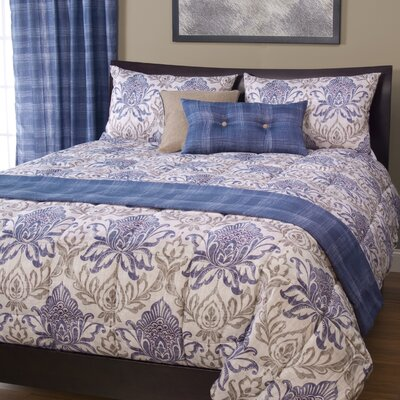 Arlberg 3 Piece Reversible Duvet Cover Set Size: King