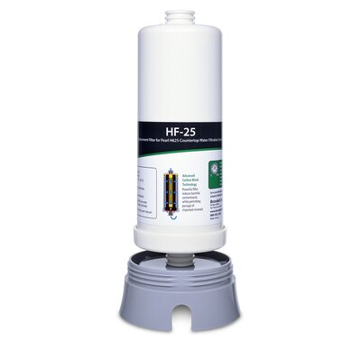 H2O+ Pearl Carbon Block Water Filter HF-25
