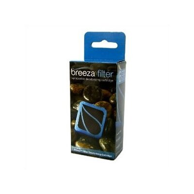 Breeza Deodorizing Replacement Carbon Filter Case Pack: Eight Cartridges