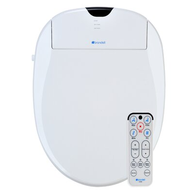 Swash 1000 Advanced Elongated Bidet Toilet Seat Finish: White