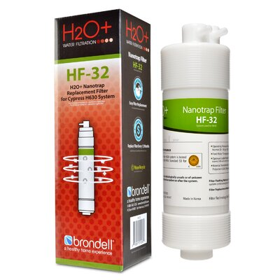 H2O+ Cypress Nanotrap Water Filter HF-32