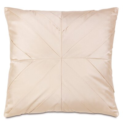 Bardot Marilyn Chamois Pleats Throw Pillow