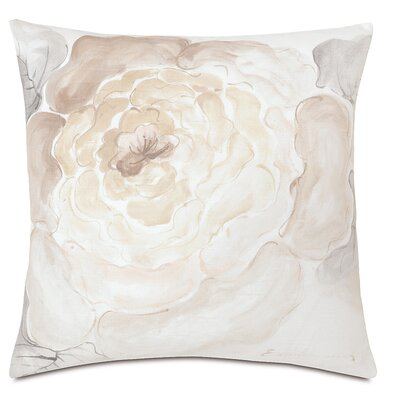 Edith Hand-Painted Motif Throw Pillow