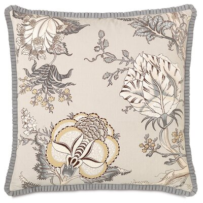 Edith Pleated Ribbon Throw Pillow