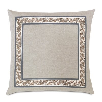 Edith Greer Mitered Border Throw Pillow