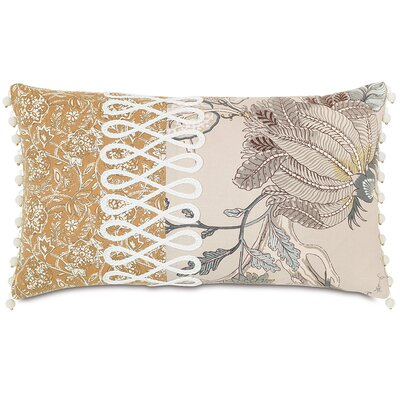 Edith Fellows Gimp Lumbar Pillow