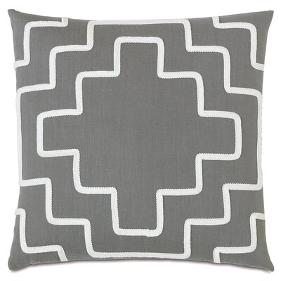 Downey Breeze Slate Throw Pillow
