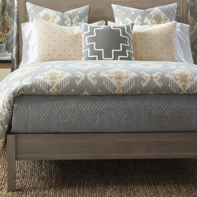 Downey Bowen Slate Coverlet Size: Super King