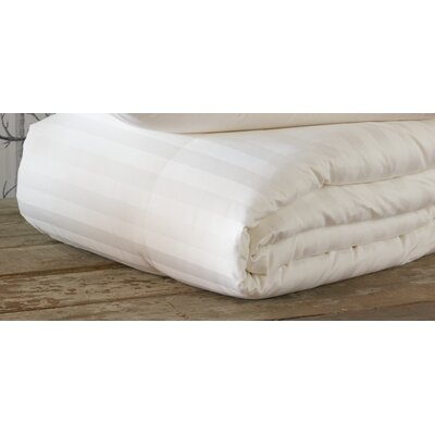 Rhapsody Luxe Medium Weight Down Comforter Size: King