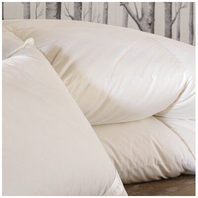 Concerto Premier Medium Weight Down Comforter Size: Super Queen